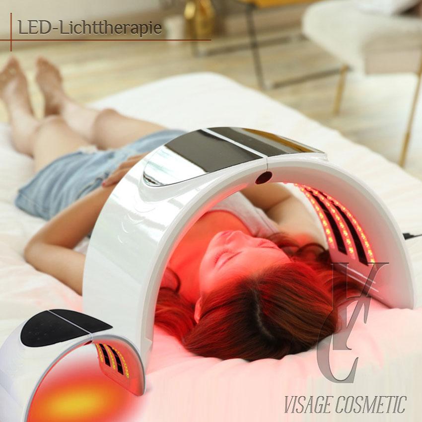 LED-Lichttherapie-Gesichtsmaske